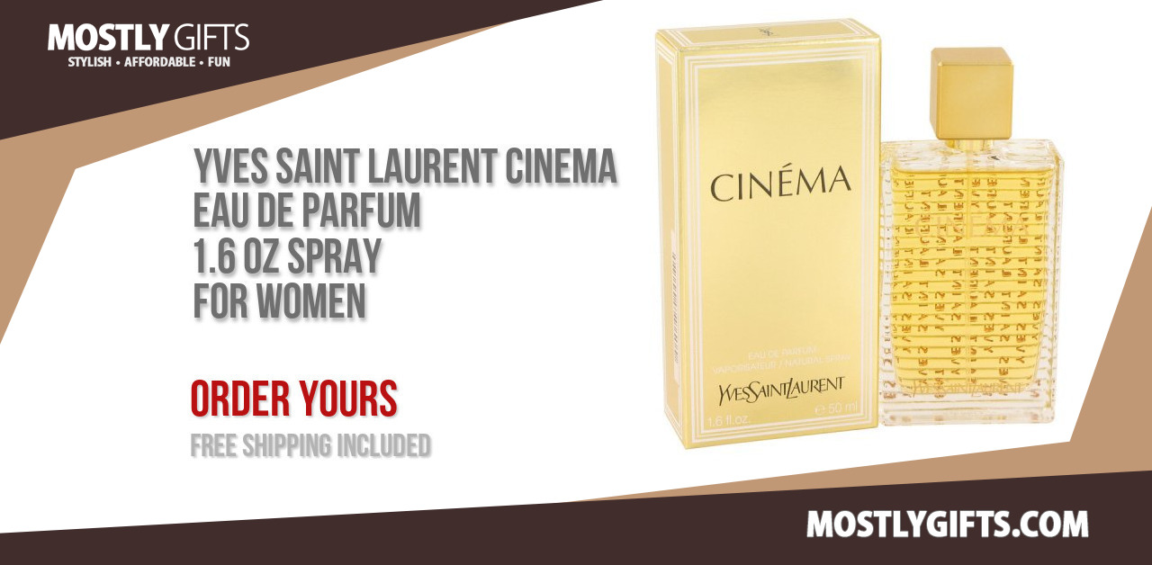 Save 23 Buy Yves Saint Laurent Cinema Eau De Parfum 16 Oz Spray