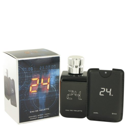 24 The Fragrance By Scentstory Eau De Toilette Spray + 0.8 Oz Mini Pocket Spray 3.4 Oz