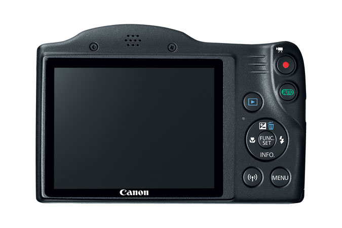 Canon PowerShot SX420 IS Digital Camera Back