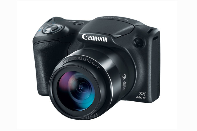 Canon PowerShot SX420 IS Digital Camera Flash Closed