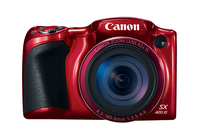 Canon PowerShot SX420 IS Digital Camera Front
