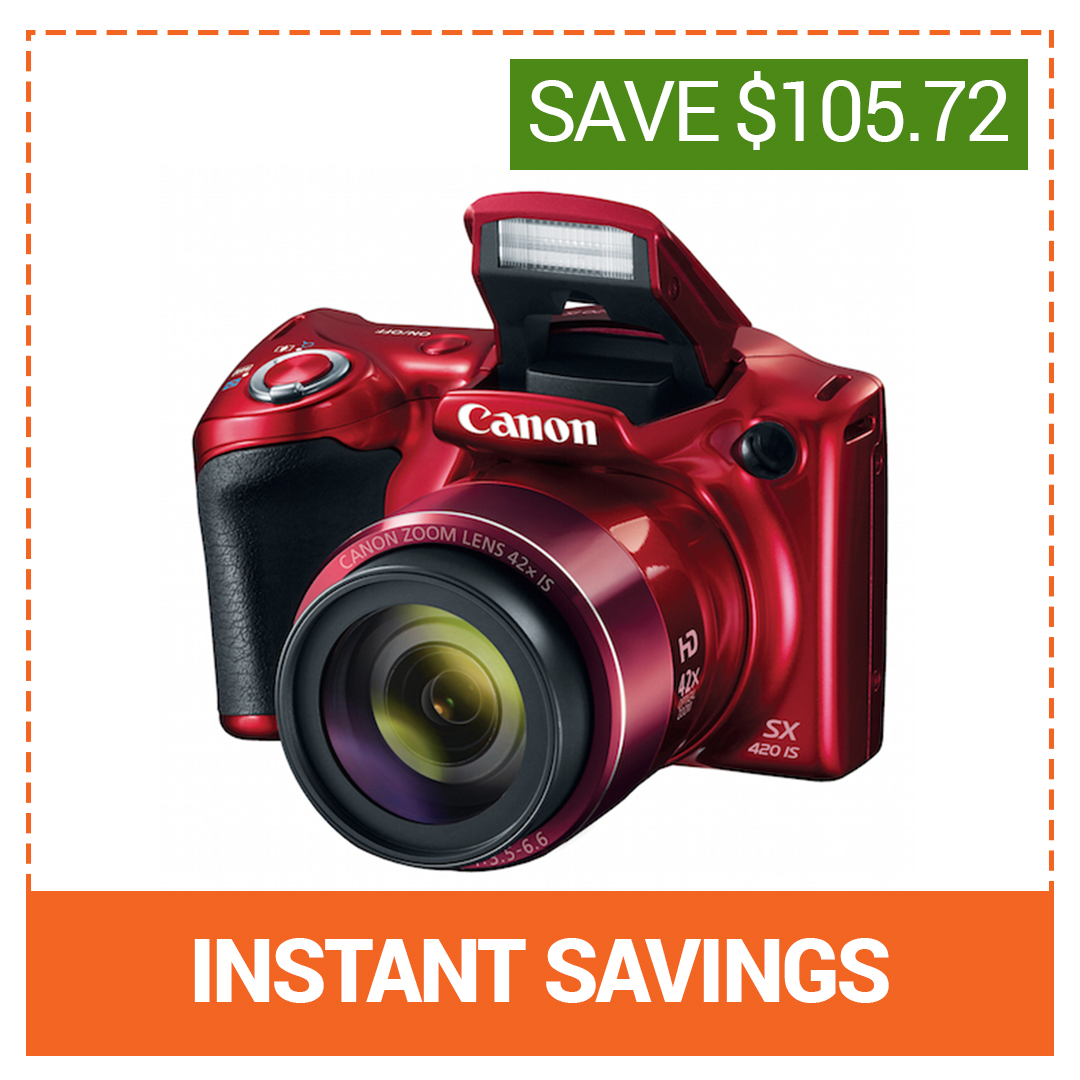 Save On Canon Powershot SX420 IS
