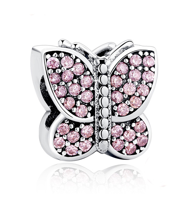 Buy Crystal Butterfly Charm