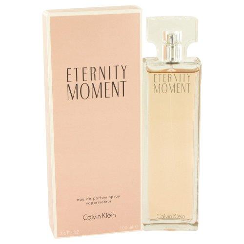 Eternity Moment By Calvin Klein Eau De Parfum Spray 3.4 Oz