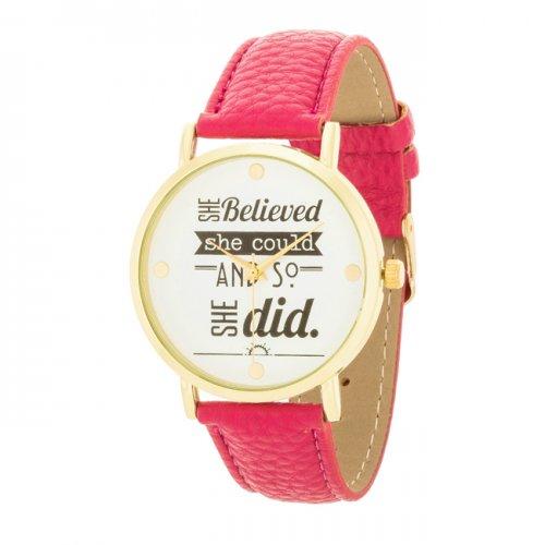 Fashion Inspiration Watch