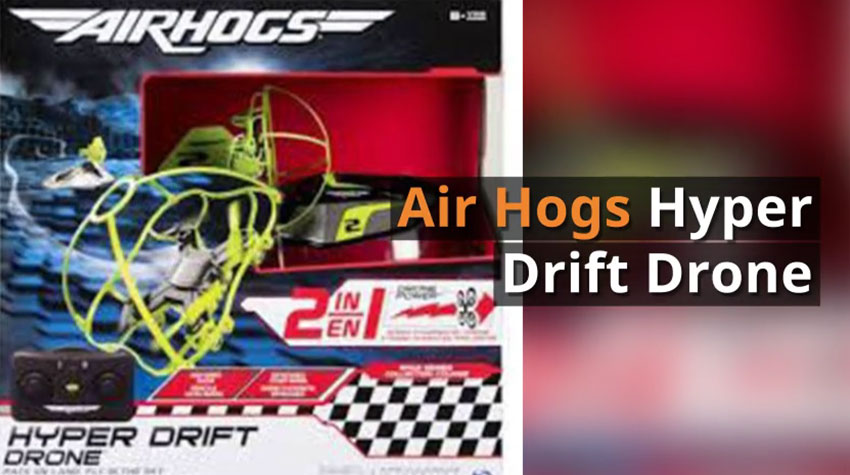 Hyper Drift Drone By Air Hogs