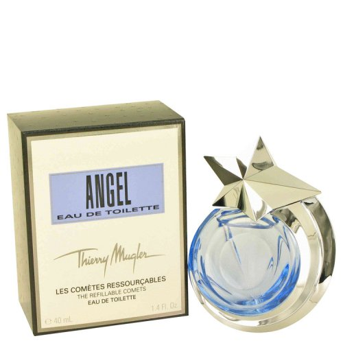 Angel By Thierry Mugler Eau De Toilette Spray Refillable 1.4 Oz