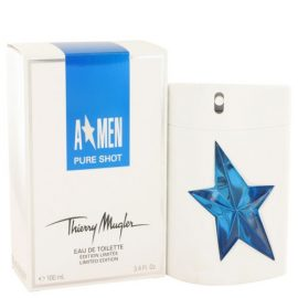 Angel Pure Shot By Thierry Mugler Eau De Toilette Spray 3.4 Oz