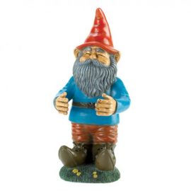 Beer Can Holder Gnome Statue