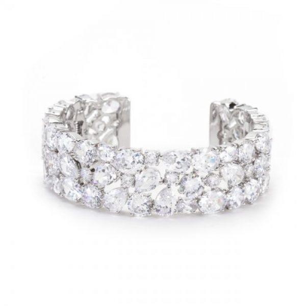 Bejeweled Cuff Bracelet
