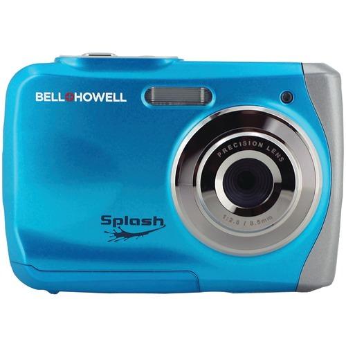 Bell+howell 12.0 Megapixel Wp7 Splash Waterproof Digital Camera (blue)