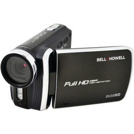 Bell+howell 20.0 Megapixel 1080p Dv30hd Fun-flix Slim Camcorder (black)