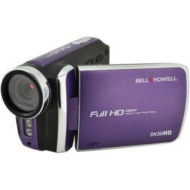 Bell+howell 20.0 Megapixel 1080p Dv30hd Fun-flix Slim Camcorder (purple)