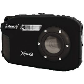 Coleman 20.0 Megapixel Xtreme3 Hd And Video Waterproof Digital Camera (black)