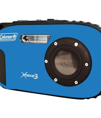 Coleman 20.0 Megapixel Xtreme3 Hd And Video Waterproof Digital Camera (blue)