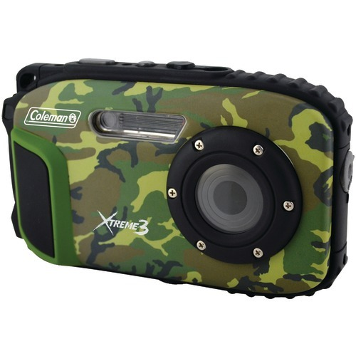 Coleman 20.0 Megapixel Xtreme3 Hd And Video Waterproof Digital Camera (camo)