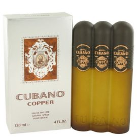 Cubano Copper By Cubano Eau De Toilette Spray 4 Oz