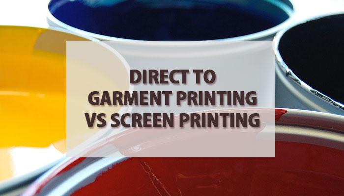 Direct To Garment Printing vs Screen Printing