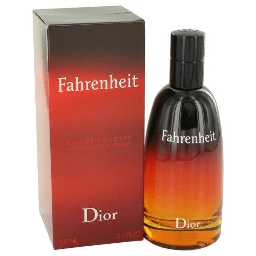 Fahrenheit By Christian Dior Eau De Toilette Spray 3.4 Oz