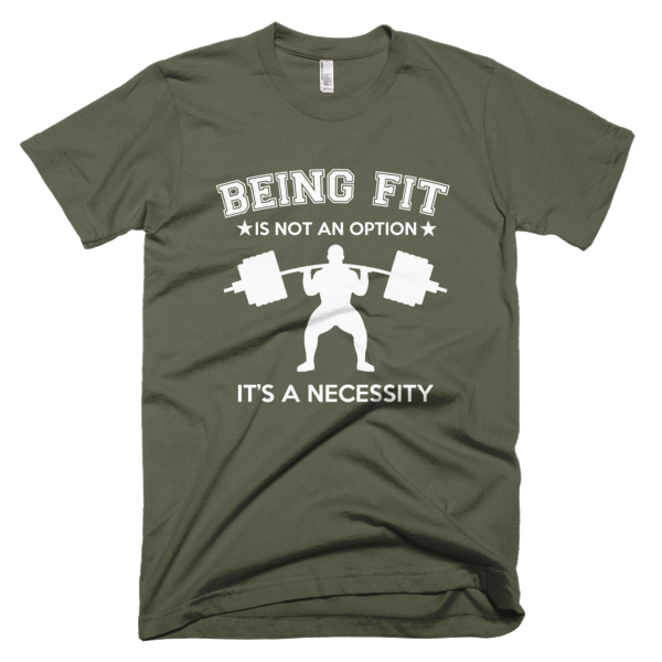 Being Fit - Graphic Fitness Tees