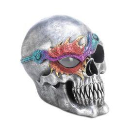 This cool Halloween fantasy skull figurine will enhance your Halloween lighting.