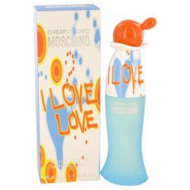 I Love Love By Moschino Eau De Toilette Spray 1.7 Oz