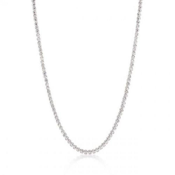 Long Elegant Cubic Zirconia Necklace