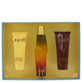 Mambo By Liz Claiborne Gift Set 3.4 Oz Cologne Spray + 3.4 Oz Body Wash + 3.4 Oz Body Moisturizer