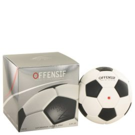 Offensif Soccer By Fragrance Sport Eau De Toilette Spray 3.3 Oz