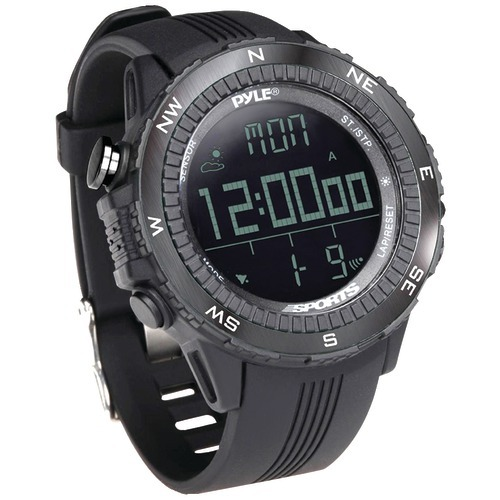 Pyle Digital Multifunction Active Sports Watch (black)