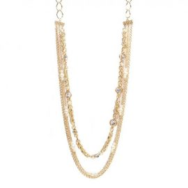 Richly Layered Fashion Necklace