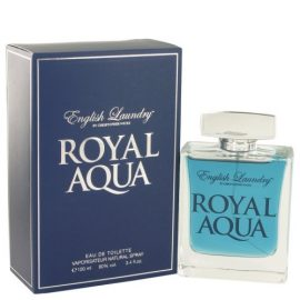 Royal Aqua By English Laundry Eau De Toilette Spray 3.4 Oz