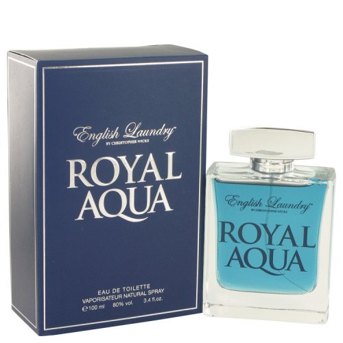 Royal Aqua By English Laundry Eau De Toilette Spray 3.4 Oz