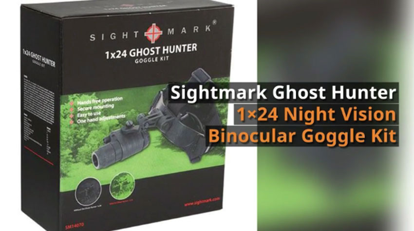Sightmark Ghost Hunter Night Vision Goggle Binocular Kit