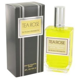 Tea Rose By Perfumers Workshop Eau De Toilette Spray 4 Oz