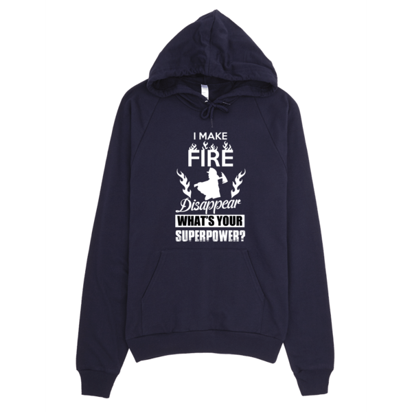 Unisex Hoodie - Make Fire Disappear
